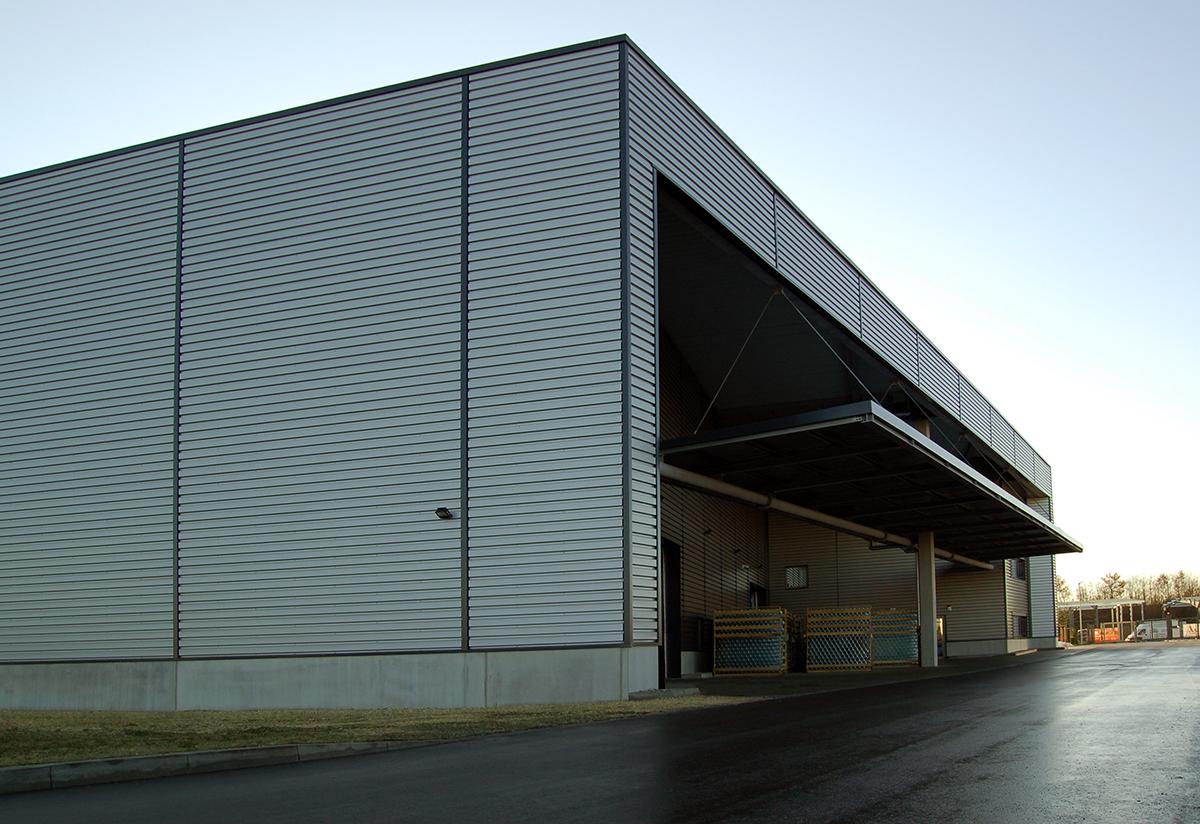 Hosokawa Logistikzentrum GVZ